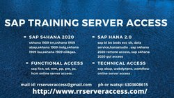 Sap S4hana Remote and Gui Access