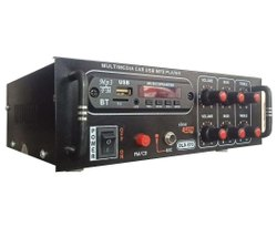 Black 4440 IC Multimedia Car Music MP3 Player Audio Amplifiers, Packaging Type: Box, Model Name/Number: DLX-570