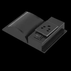 Modern Plastic Bus Mobile Charger