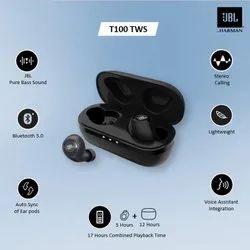 Mobile Black JBL T100 TWS True Wireless Headset