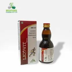 Lycopene, Multivitamin And Minerals Syrup