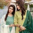 Ladies Fancy Viscose Salwar Suit