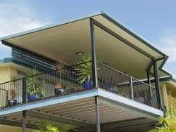Bar Iron Balcony Railing