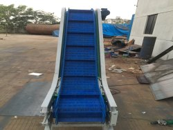 High Angle Cleated Belt Conveyor