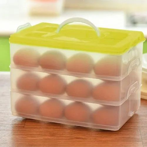 Clear Plastic Storage Box Jewelry Tool Craft Container Beads Organizer Case WY
