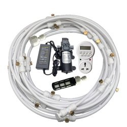 12v Electric Diaphragm Pump 8m-18m Spray Dust Removal System Fog Nozzles (Model:- 12VLPMSD-8/18M)