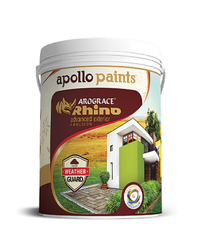 Apollo Paints Arograce Rhino Exterior Emulsion, Packaging Size: 1 Litre