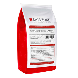 SwissBake Waffle Cone Mix Vanilla, Packaging Type: Packet, Packaging Size: 1 Kg