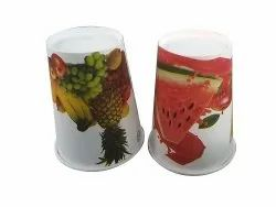 Disposable Printed Paper Juice Glass