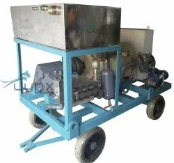 Hydro Jetting Pressure Heat Exchanger Tube Cleaning Machine