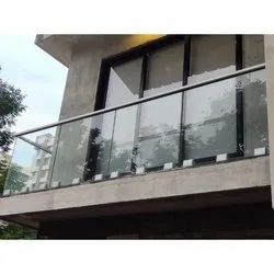 Panel Aluminum Railing for Project Work