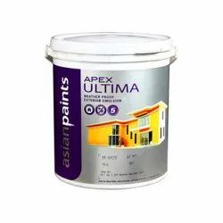 White Emulsion Asian Paints Apex Ultima, For Exterior, Packaging Size: 4 Liter