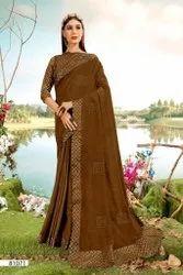 Chavi Right Women Designer Series 81065-81072 Vichitra With Work Saree