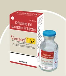 Vertacef Taz Ceftazidime and Tazobactam for Injection, Treatment: Antibiotic, Packaging Type: Glass Ampoules