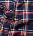 Check Cotton Shirt Fabric