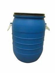 Blue HDPE Chemical Storage Barrel, Capacity: 50 Liter