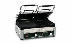 Stainless Steel Electric Sandwich Griller, For Restaurant, Capacity: 300 Gram