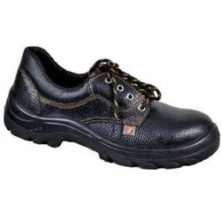 Zain ZM02 Single Density Steel Toe PU Leather Safety / Industrial Shoes