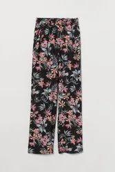 Surplus Floral Print Casual Pants