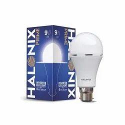 9 W Cool daylight Prime Inverter Halonix LED Bulb