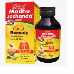 Goodluck Ayurveda Plastic Madhu Joshanda Cough Syrup, Bottle Size: 100 ml