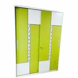 Triple Door Slider Steel Cupboards