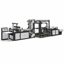 Fully Automatic Double Line Non Woven Bag Making Machine