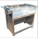 SS Polished Tea Stall Counter