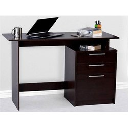 Rite Source Modern 3 Drawer Wooden Office Table, Size: 24 X 48 Inch (hxw)