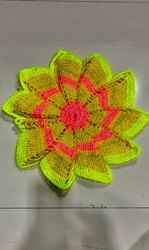 green, pink Round Hand Craft Items, For Decoration, Handcrafted, Made Up Of Woolen