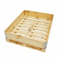Rectangular 4 Way Industrial Wooden Pallet, For Packaging, Capacity: 3 Ton