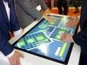 Multitouch screen table