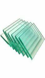 Green Rectangular Float Toughened Glass, Glass Thickness: 11.5 Mm, Size: 11 X 4 Feet