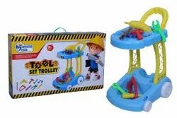 Tool Trolley Set, For Play