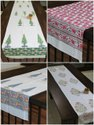 Cotton Hand block printed Table Runners