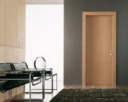 RE006 Modern Wooden Laminate Door