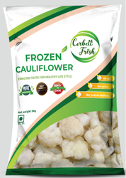 Corbett Fresh A Grade Iqf Frozen Cauliflower, Packaging Size: 1KG