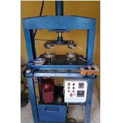 Semi Automatic Single Die Plate Machine