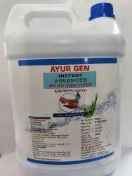 Herbal Hand Sanitizer 5 Litre