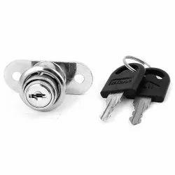 ABS Cam Lock With 2 Keys, Chrome