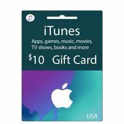 Itunes US Dollar Gift Card - 10 Dollar