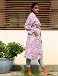Hand Block Printed Kimono
