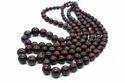 Natural Suzolite Gemstone Smooth 5-12.5 Mm Round Ball Shape Stone Beads 1 Strand