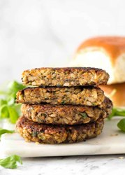 Hyfun Veg Burger Patty, For Restaurant