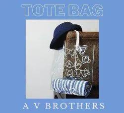 PVC Fashion Tote Bag