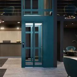 Glass Door Passenger Lift