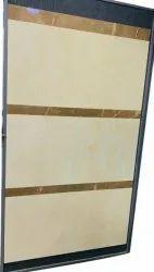 Matte Barcelona Crema Ceramic Wall Tile, 600 mm x 600 mm