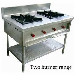High Grade Commercial Two Burner Gas Stove