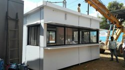 9 Feet Aluminum Office Cabin