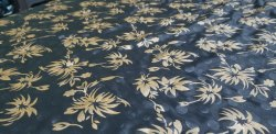 Silk Printed Pearl Shine Metallic Paste, For Saree